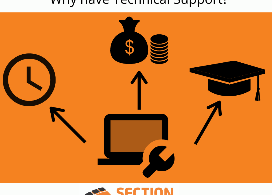 Why have technical support?